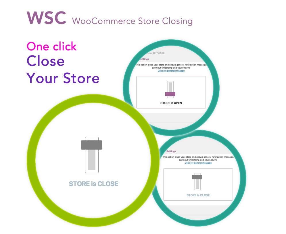 WooCommerce Store Closing Plugin - WSC Plugin by Ozibal